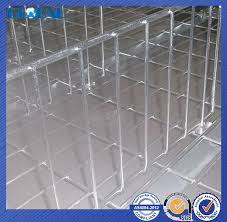 warehouse stacking wire decking flexible wire mesh divider for