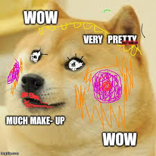 How To Make A Doge Meme - doge much pretty imgflip