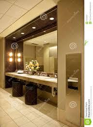 luxurious public bathroom stock photography image 13166252
