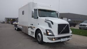 used volvo semi for sale 2018 volvo vnl with 156 inch ari legacy ii rdfs sleeper 1574