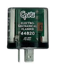 44820 3 pin flasher 10 light electromechanical flasher