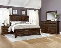 reflections bedroom set vaughan bassett reflections king storage bed bett furniture