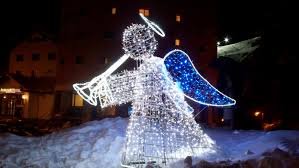 lighted angel christmas decoration outdoor lighted angel christmas decorations design 15 outstanding
