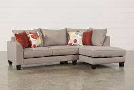 Living Spaces Sofas Kira 2 Piece Sectional W Raf Chaise Living Spaces