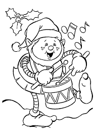 funny christmas elf coloring pages for kids printable free door