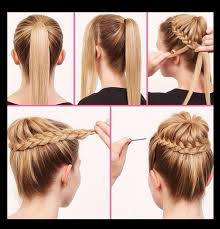 Easy Updo Hairstyles Step By Step by Step By Step Easy Hair Style Tutorials Beauty Hair
