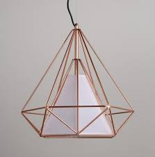 Wire Pendant Light Copper Wire Cage Pendant Light Tudo Co Tudo And Co
