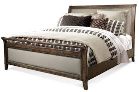 California King Sleigh Bed Cal King Sleigh Upholstered Bed By Riverside Furniture Wolf And