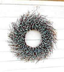 spring wreath summer door wreath rustic twig wreath walling