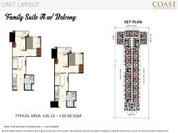 family suite a with balcony coast residences caluscusan