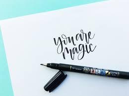 3 hand lettering tips for beginners