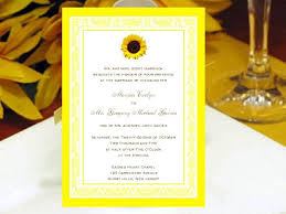Sunflower Wedding Invitations 727 Best Sunflower Wedding Invitations Images On Pinterest