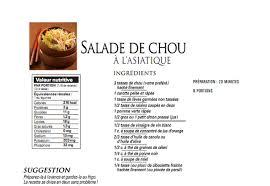 cuisine sans sel 101 recettes sans sel salade de chou à l asiatique