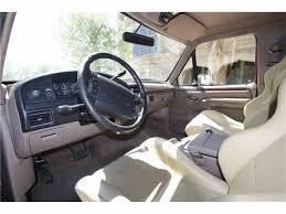 bronco car 1996 1996 ford bronco for sale classiccars com cc 1027415