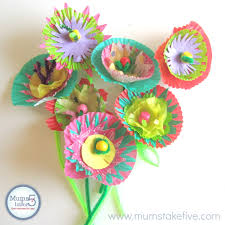 paper flower crafts for kids home decorating interior design