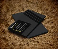 card business card template in photoshop
