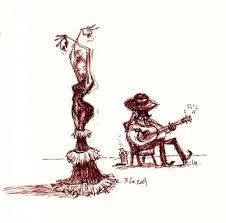 sharackula tuesday night drawing flamenco dancers pinterest