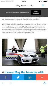 lexus isf exhaust uk lexus isf police car owner lexus is f club lexus owners club