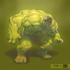 incredible hulk inspired artwork designrfix