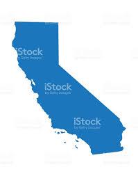 Sacramento California Map Blue Map Of California Stock Vector Art 538983587 Istock
