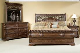 Bedroom Furniture Sets King Uk Furniture Arbor Place Sleigh Bedroom Set