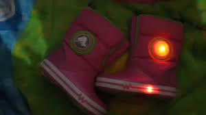crocs light up boots crocs kids crocslights gust boot ps youtube