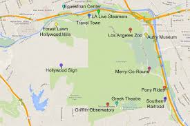 La Zoo Map Guide To Visiting Griffith Park In Los Angeles