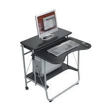 Portable Computer Desk Fold Go Portable Computer Desk Black Onestop Ergonomics