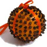 make these clove oranges as gifts and to hang around your house