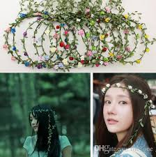 flower hairband 2017 women girl boho flower headband forehead headband hair