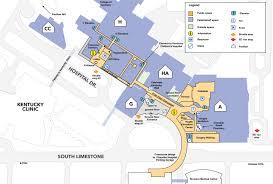 uky map uk chandler hospital map for professionals uk healthcare