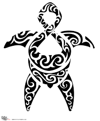 maori turtle tattoo stencil real photo pictures images and