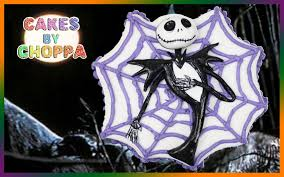 jack skellington halloween cake how to youtube