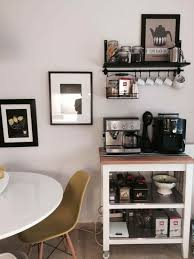 Office Bar Cabinet Ikea Office Cabinets Coffee Station Decor Pinterest Corner Bar