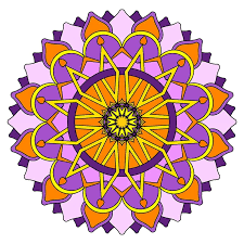 mandala color free coloring mandala color mandalas