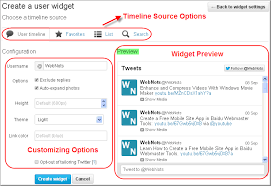 membuat widget twitter di website how to add twitter tweet and timeline to weebly site webnots