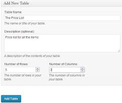 Wordpress Tables How To Add Tables In Wordpress Posts And Pages Without Coding