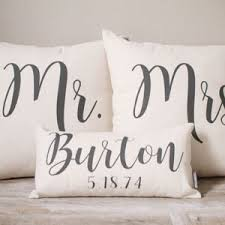mr and mrs pillow mr and mrs pillows etsy