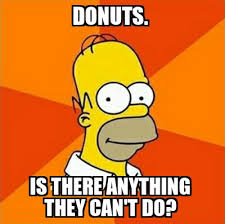 Drooling Meme - list of synonyms and antonyms of the word homer simpson donut meme