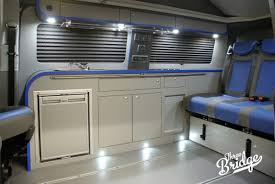 volkswagen westfalia camper interior infinity low line three bridge campers vw camper conversions