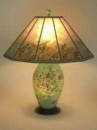 Glass Lamp Shades For Table Lamps Lindsay Fine Art Glass Lamp U0026 Sea Turtles Mica Lamp Shade Sue