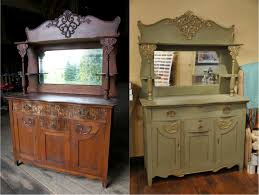 Antique Painted Sideboard 153 Best Chalk Paint Buffets U0026 Hutches Images On Pinterest