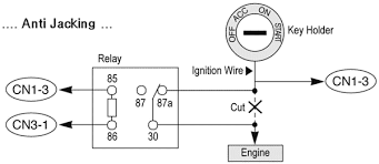 starter kill relay wiring diagram basic relay diagram u2022 45 63 74 91