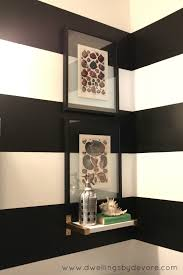 B Home Interiors by Beautiful Black And White Striped Bathroom 18 With Additional Home