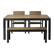 table banc cuisine falster table 2 chaises banc ext ikea