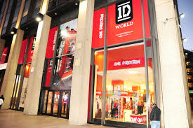 images from the one direction pop up store in new york city where