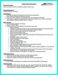 cna resume template cna resume sle resume exles