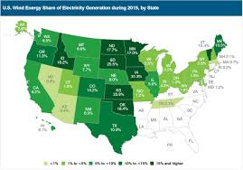 map us iowa wind supplied iowa with more than 31 of its electricity last year