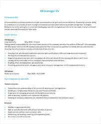 Senior Hr Manager Resume Sample 54 Manager Resumes In Pdf Free U0026 Premium Templates