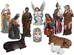 Nativity Sets Outdoor Plastic Lighted Nativi28 Jpg